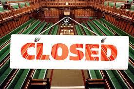 closed Parliament